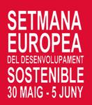 Logotip Setmana Europea del Desenvolupament Sostenible